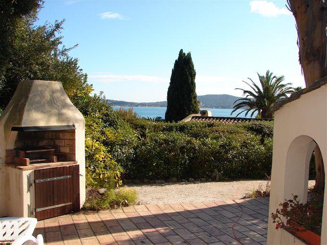 Vue de la terrasse Location Maison 93909 Saint Tropez