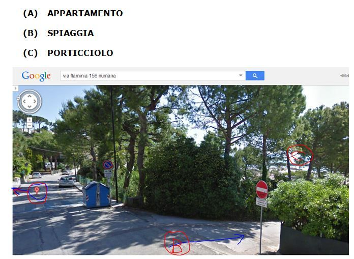 Carte Location Appartement 71300 Numana