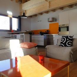 Cuisine américaine Location Appartement 76576 Valmorel