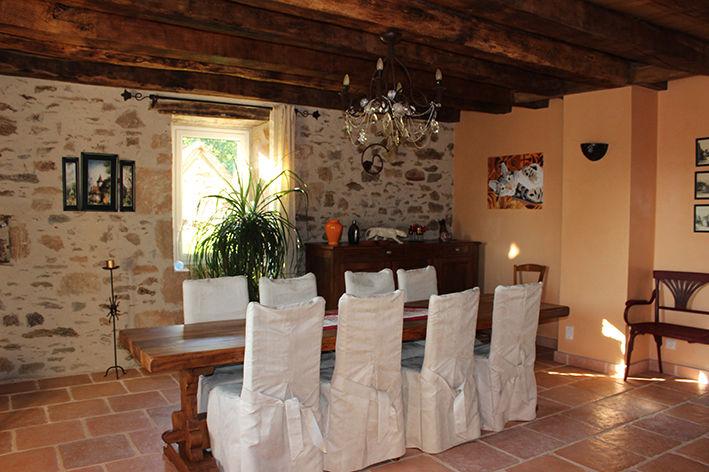 Salle à manger 2 Location Gite 79870 Rocamadour
