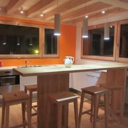 Cuisine américaine Location Appartement 76578 Valmorel