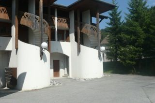 Vue extérieure de la location Location Appartement 80097 Les Gets