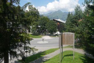 Vue de la terrasse Location Appartement 80097 Les Gets