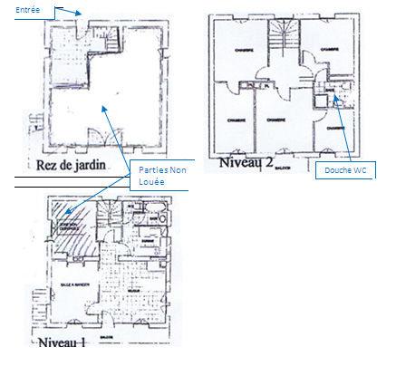 Plan de la location Location Chalet 80254 Samoëns