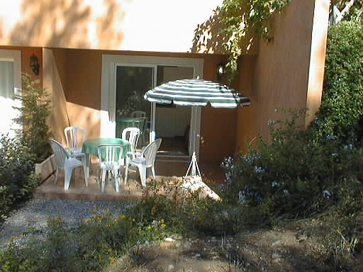 Vue de la terrasse Location Appartement 8604 Bandol