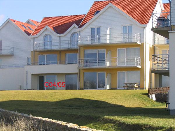 Vue extérieure de la location Location Appartement 8917 Wimereux