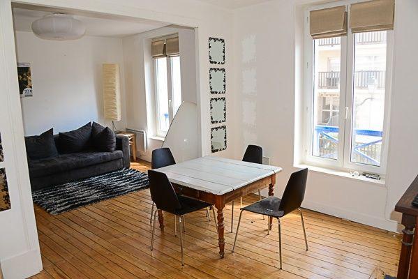 Salle à manger Location Appartement 88477 Cabourg