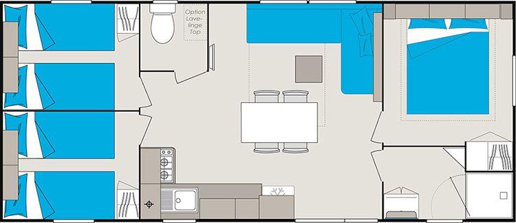 Location Mobil-home 96192 Les Mathes