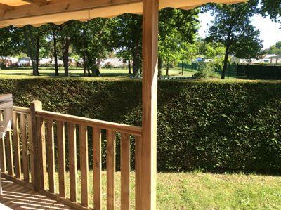 Vue de la terrasse Location Mobil-home 96192 Les Mathes