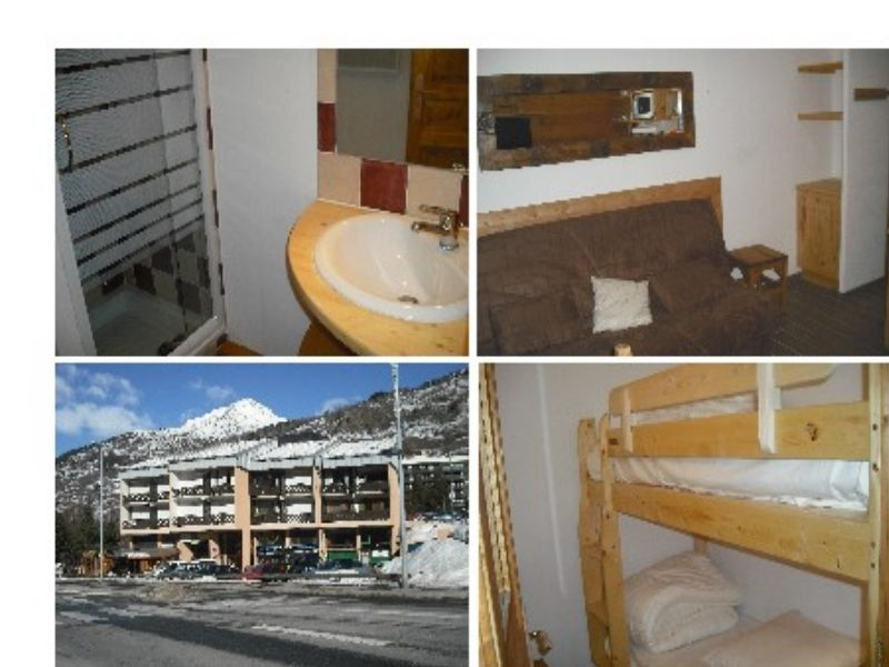 Vue extérieure de la location Location Appartement 66595 Serre Chevalier