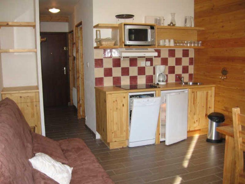 Vue depuis la location Location Appartement 66595 Serre Chevalier