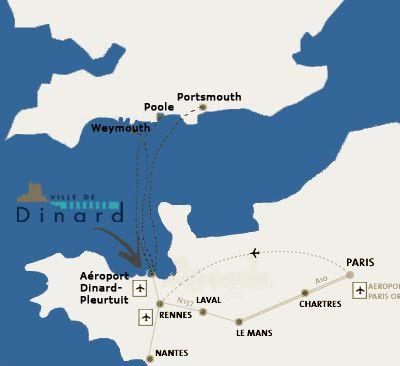 Carte Location Appartement 94885 Dinard