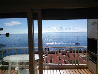 Vue du balcon Location Appartement 92344 Rosas