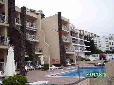 Vue extérieure de la location Location Appartement 92344 Rosas