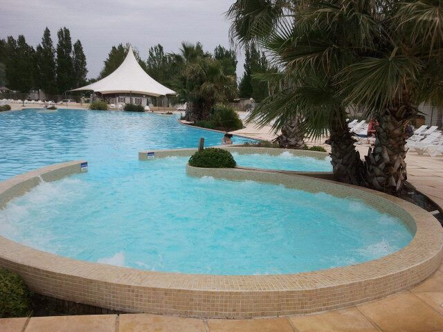 Piscine Location Mobil-home 95245 Vias Plage