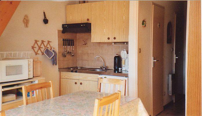 Coin cuisine Location Appartement 552 Bellevaux Hirmentaz La Chèvrerie
