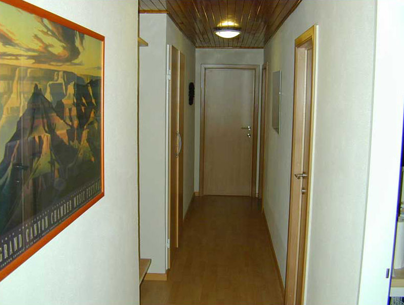 Couloir Location Appartement 64 Alpe d'Huez