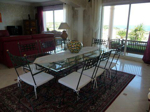 Salle à manger Location Villa 85005 Sainte Maxime