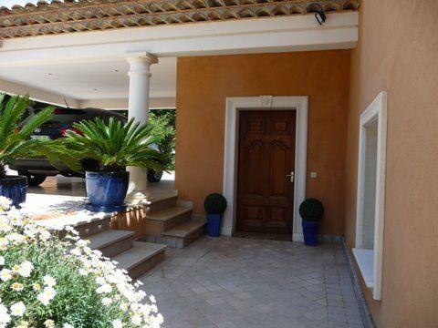 Entrée Location Villa 85005 Sainte Maxime