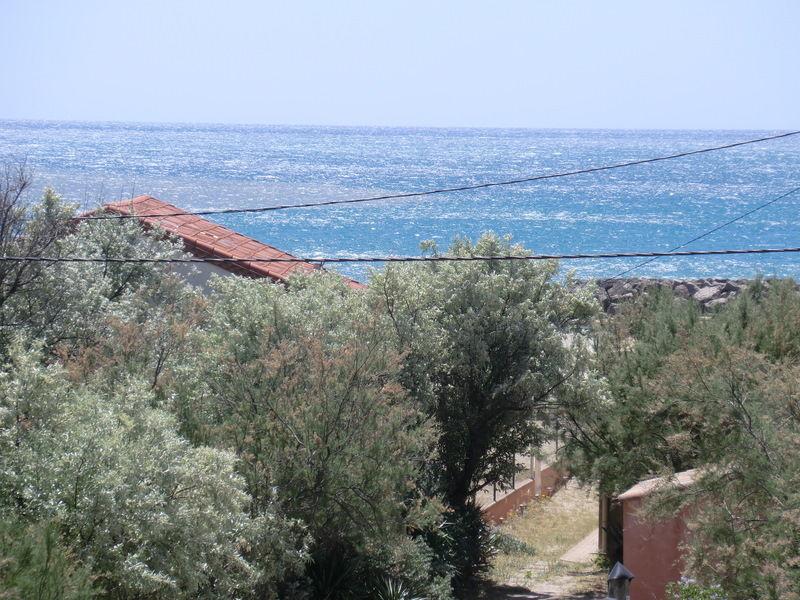 Vue de la terrasse Location Appartement 64145 Frontignan