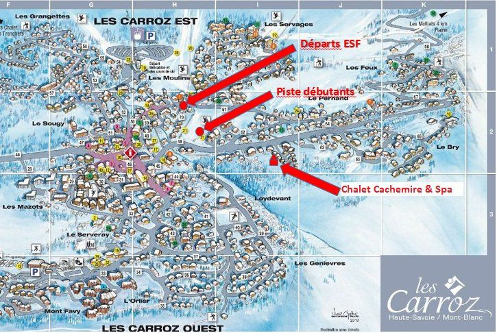 Location Chalet 90862 Les Carroz d'Araches