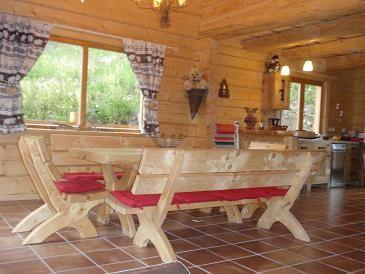 Salle à manger Location Chalet 65858 La joue du Loup