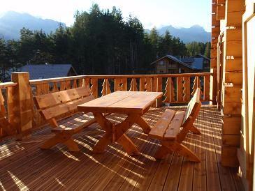 Terrasse 1 Location Chalet 65858 La joue du Loup
