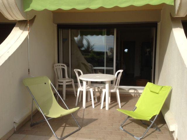 Terrasse Location Studio 67260 La Grande Motte