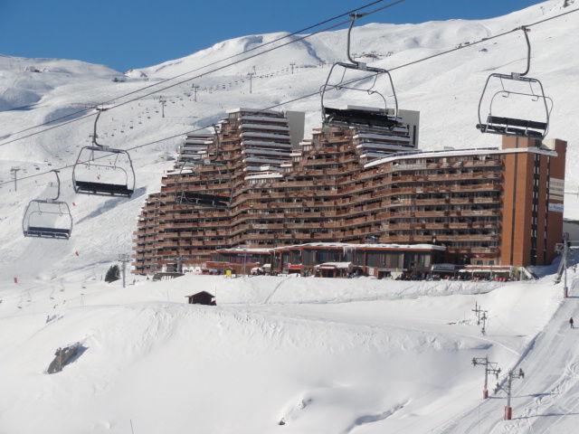 Vue extérieure de la location Location Appartement 67265 La Mongie
