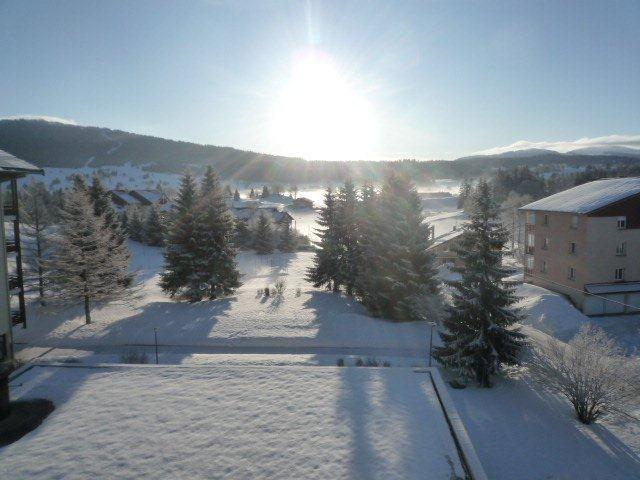 Vue du balcon Location Appartement 73967 Les Rousses
