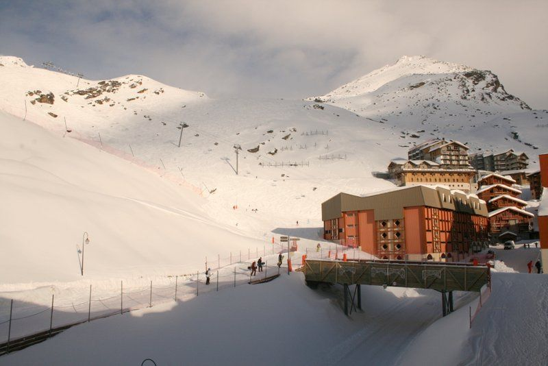 Vue du balcon Location Studio 101421 Val Thorens