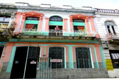 Vue ext�rieure de la location Location Chambre d'h�te 101498 La Havane