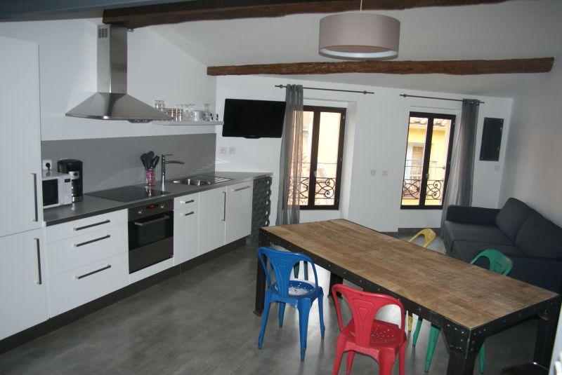 Cuisine américaine Location Appartement 102726 Collioure