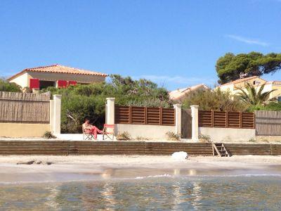 Vue extérieure de la location Location Villa 106297 Hyères