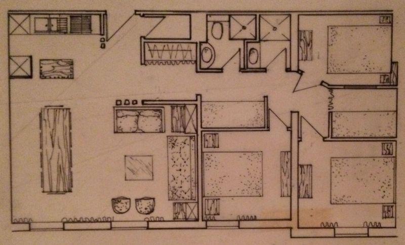 Plan de la location Location Appartement 107207 Alpe d'Huez