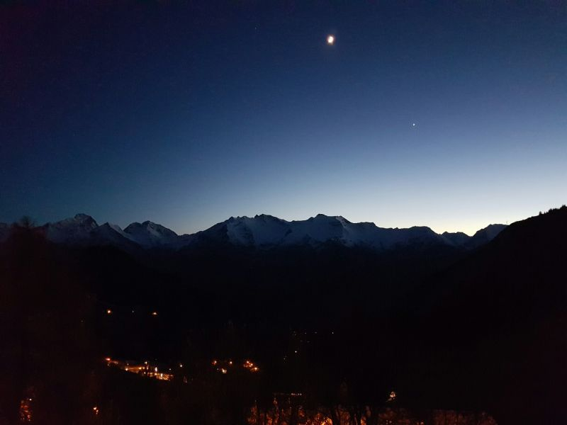 Vue du balcon Location Appartement 107207 Alpe d'Huez