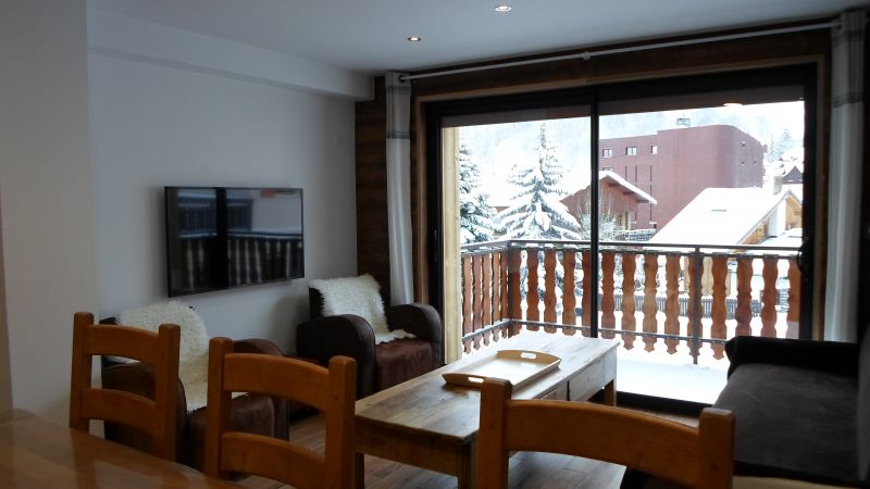 Vue extérieure de la location Location Appartement 107322 Valloire