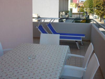 Vue de la terrasse Location Appartement 107532 Bellaria Igea Marina