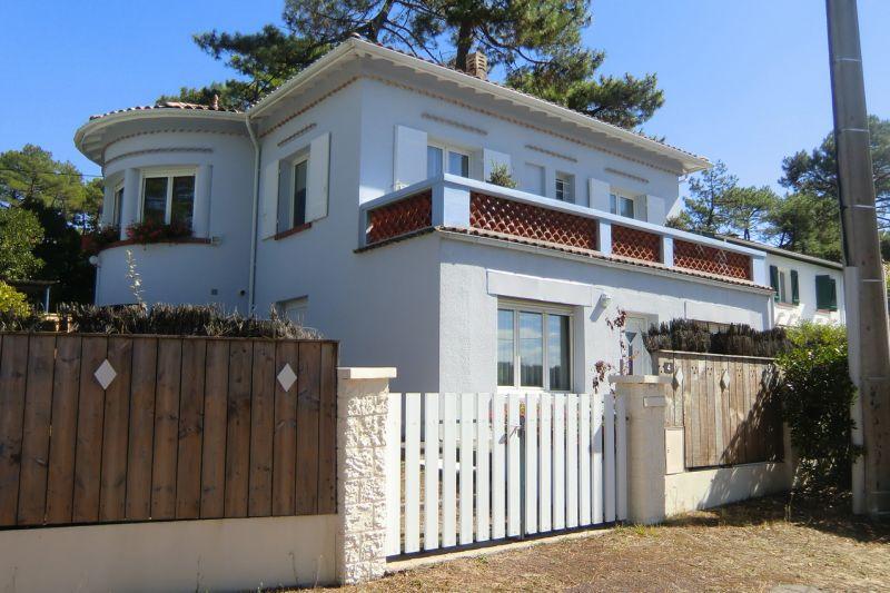 Vue extérieure de la location Location Villa 109689 Cap Ferret