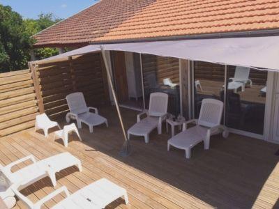Terrasse 1 Location Maison 110941 Moliets