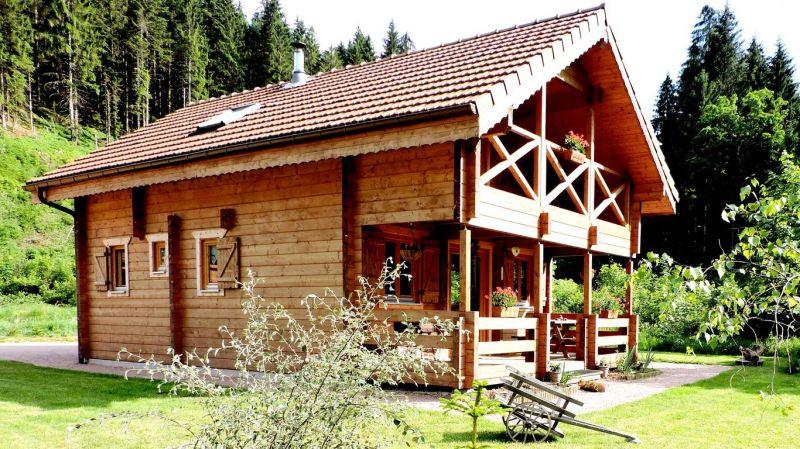 Vue extérieure de la location Location Chalet 112489 Gérardmer