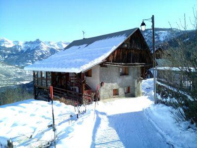 Vue extérieure de la location Location Appartement 112746 Puy Saint Vincent