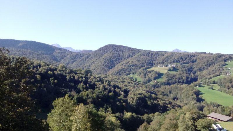 Vue depuis la location Location Chambre d'hôte 113357 Bagnères de Bigorre