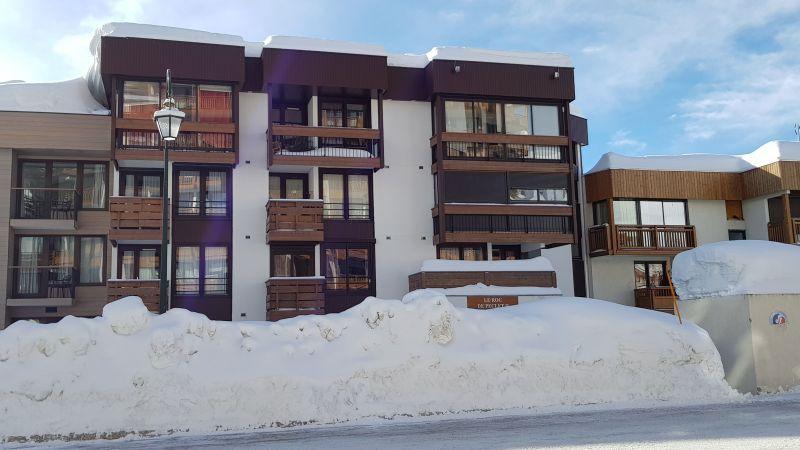 Vue extérieure de la location Location Appartement 113954 Val Thorens