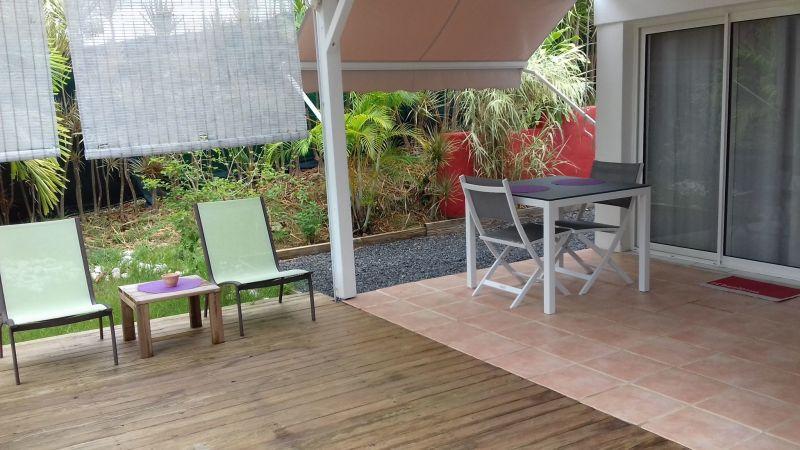 Terrasse Location Appartement 116020 Sainte Anne (Guadeloupe)
