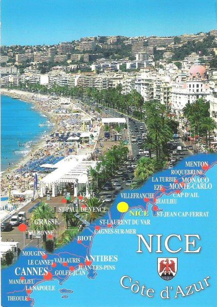 Carte Location Appartement 117475 Nice
