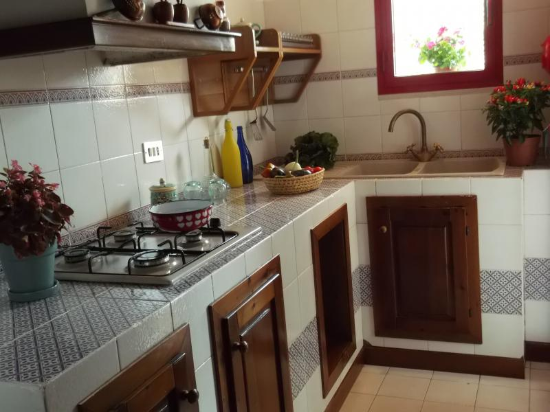 Coin cuisine Location Appartement 63878 Scopello