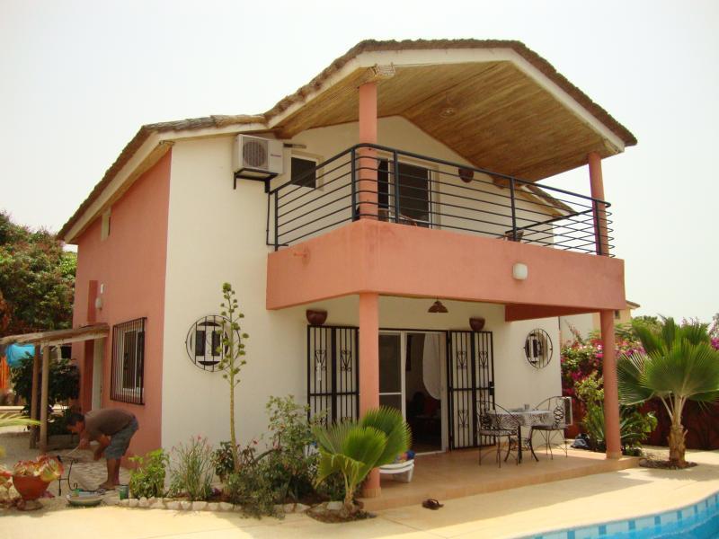 Vue extérieure de la location Location Villa 63924 Saly