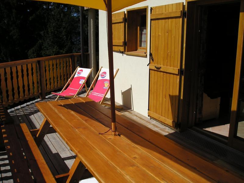 Terrasse Location Chalet 65260 La Plagne