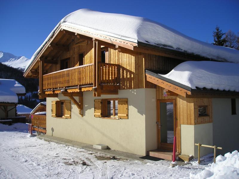 Entrée Location Chalet 65260 La Plagne